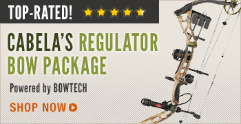 Cabela's Regulator Bow Package Powered by Bowtech