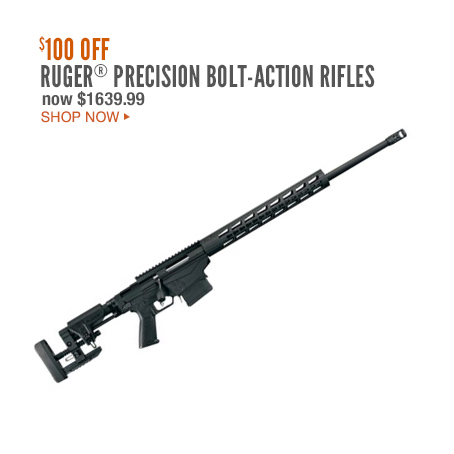Ruger®Precision Bolt-Action Rifles