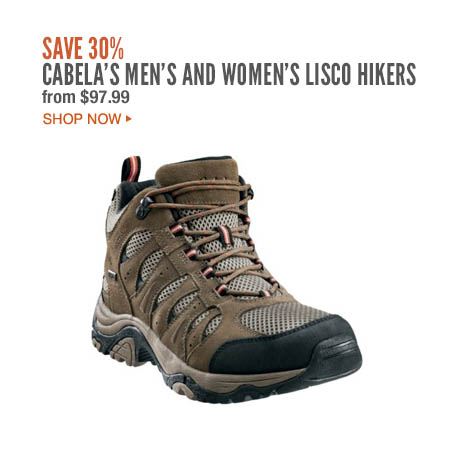 Cabela's Men's and Women's Lisco Hikers