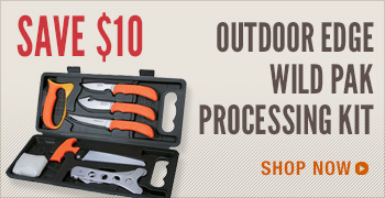Outdoor Edge Wild Pak Processing Kit