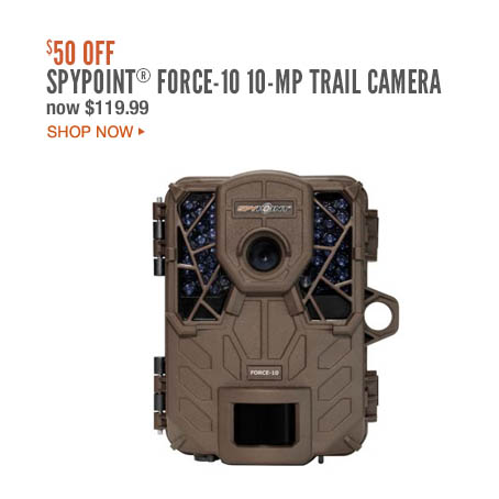 Spypoint® Force-10 10MP Trail Camera