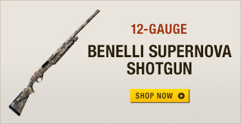 Benelli SuperNova 3-1/2'' 12-Gauge Pump Action Shotgun