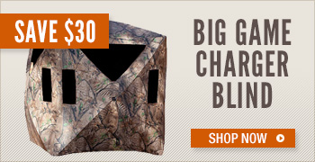 Big Game Charger Ground Blind