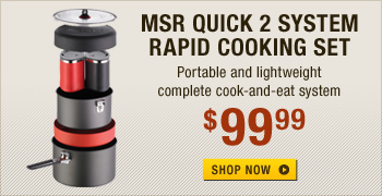 MSR Quick 2 System Rapid Cooking Set