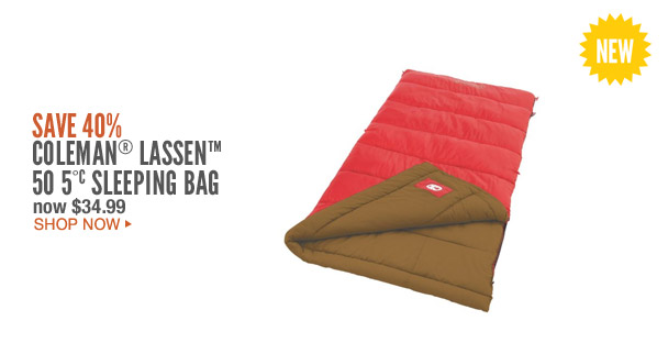 Coleman® Lassen™ 50°C Sleeping Bag