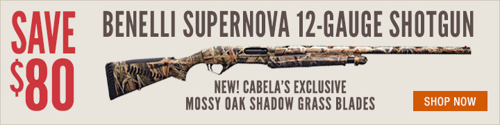 Benelli Supernova Mossy Oak Shadow Grass Blades