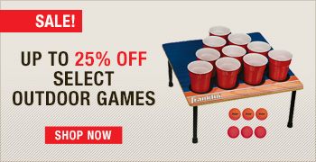 Save Up To 25% Off Select Outdoor Games