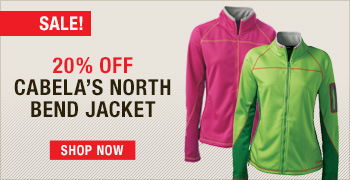 20% Off Cabela's Women's North Bend Fleece Jacket