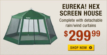Eureka! Hex Screen House