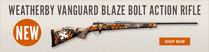 Weatherby Vanguard Blaze Bolt Action Rifle