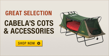 Cabela's Cots and Accessories
