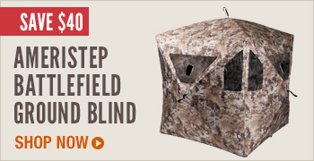 Ameristep Battlefield Ground Blind