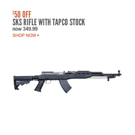 SKS Rifle with Tapco Stock