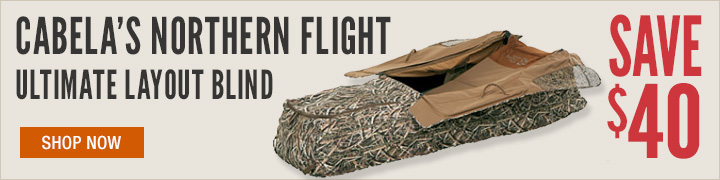 Cabela's Northern Flight Layout Blind