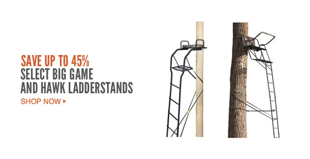 Select Big Game and Hawk Ladderstands