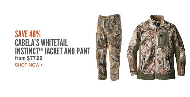Cabela's Whitetail Instinct Jacket and Pant